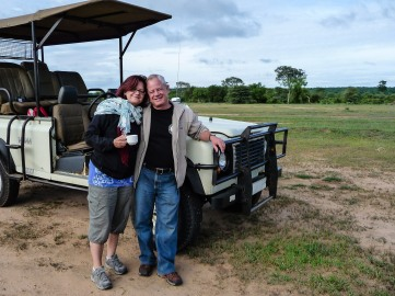 Glen and Rob, Zimbabwe